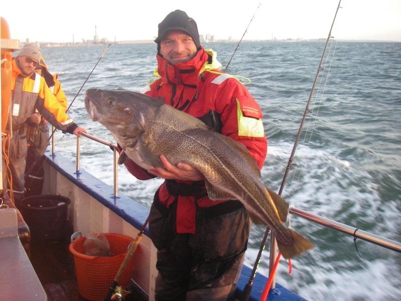 Torben med torsk 14,1 2015
